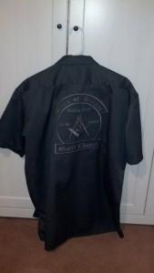Short Sleeve Black w/gray